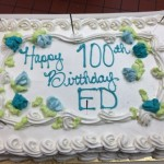 This was one of his 2 cakes. The other was chocolate, Ed's favorite!