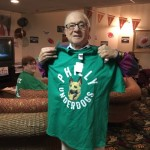 Gerry won the 1st shirt!