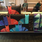Beautiful quilting cats